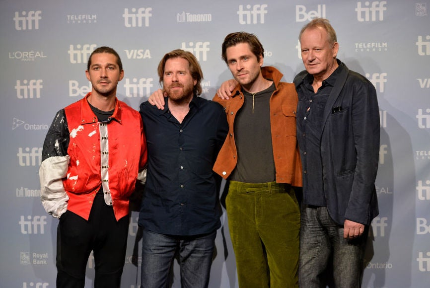 Director Janus Metx and cast of the film Borg McEnroe in Toronto 2017