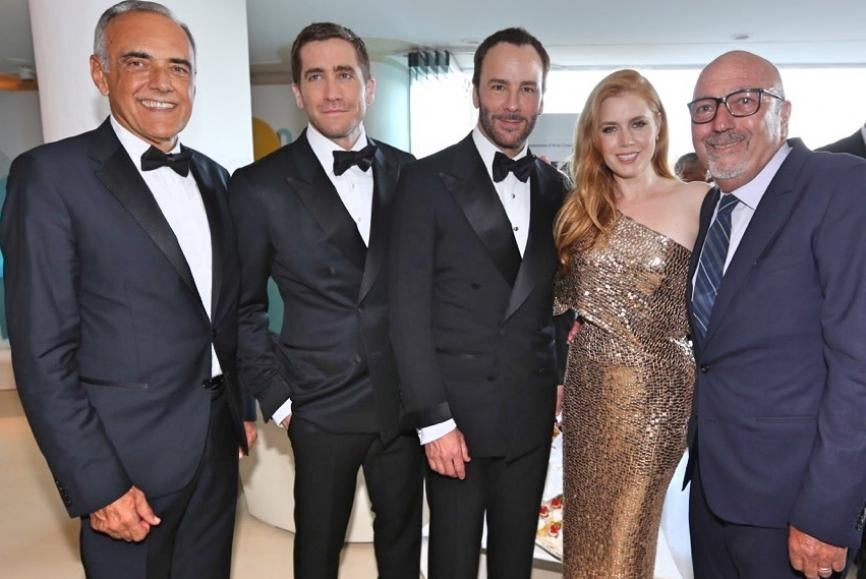 HFPA reception at Venice Film Festival 2016