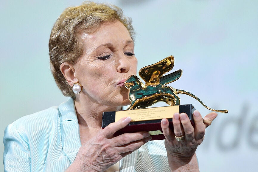 Julie Andrews receives the Golden Lion - Venice 2019