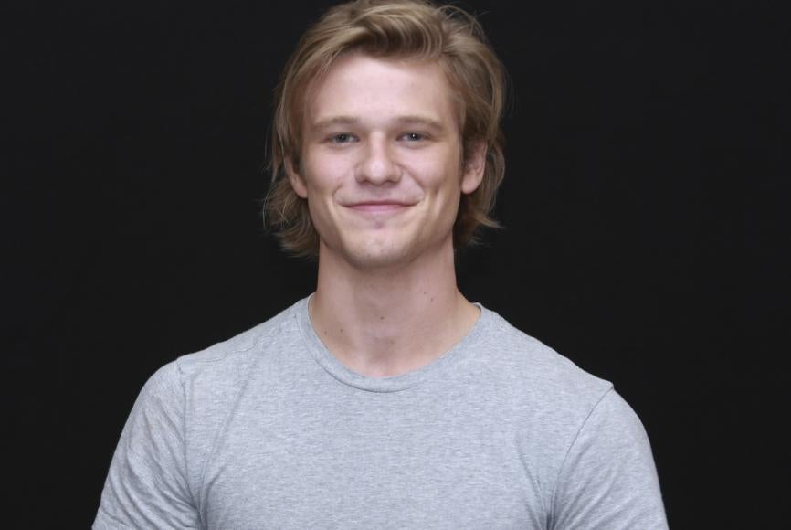 Actor Lucas Till, the new McGyver, at Comic-Con 2016