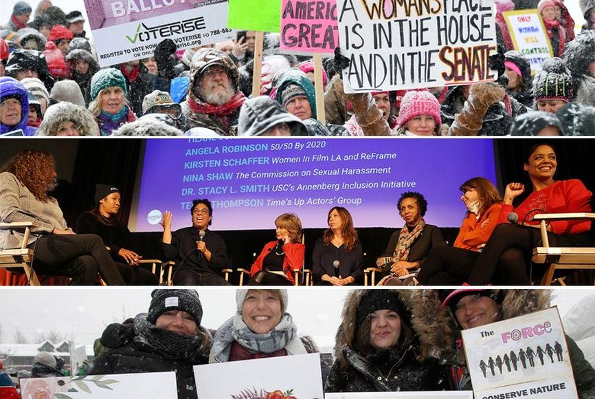2018 Sundance: Respect Rally, Sundance Brunch and Women's March