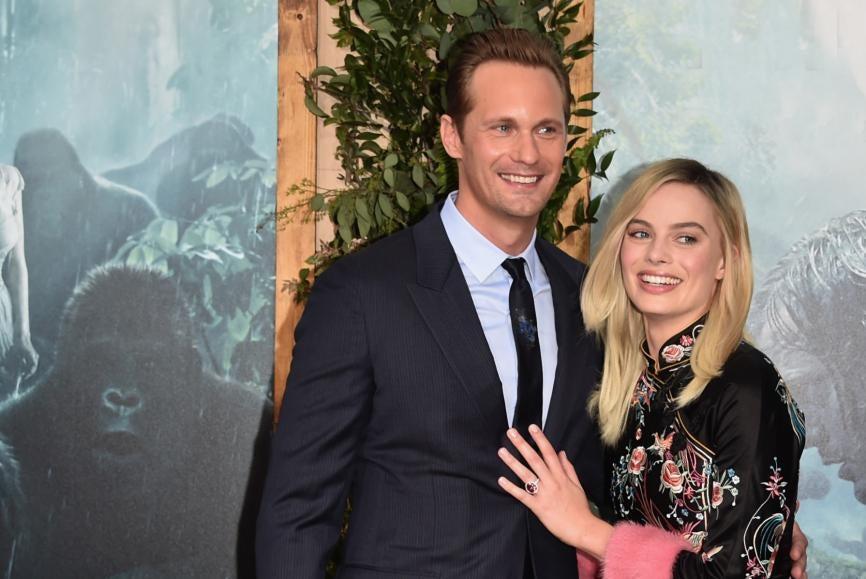 "Alexander Skarsgård, Margot Robbie on ""The Legend of Tarzan"""