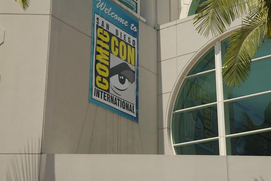 Comic-Con Welcome
