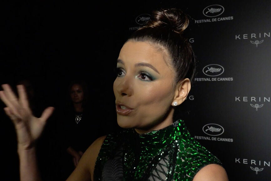 """Eva Longoria at the 72nd Cannes Film Festival Keriing """"Women in Motion"""" Awards"""