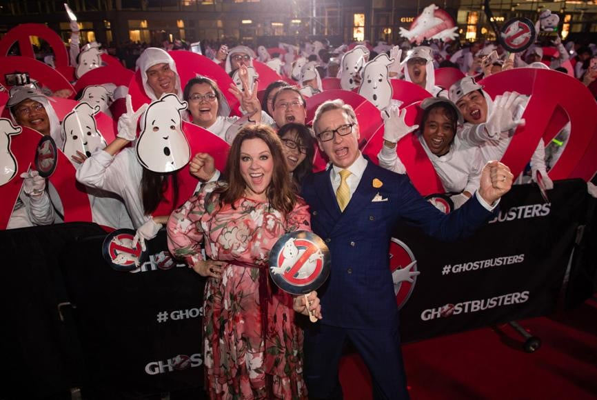 "Paul Feig and Melissa McCarthy on ""Ghostbusters"""