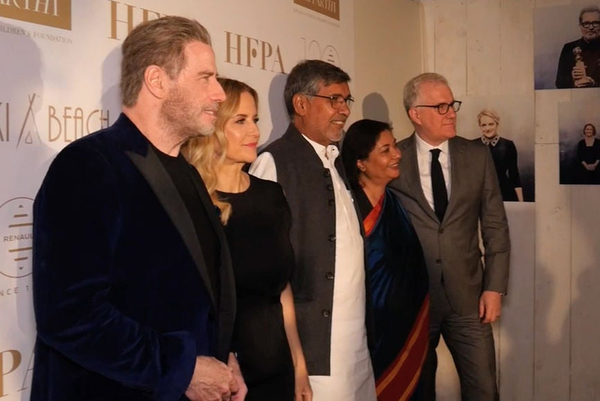 HFPA Humanitarian Award to Kailash Foundation Announced in Cannes
