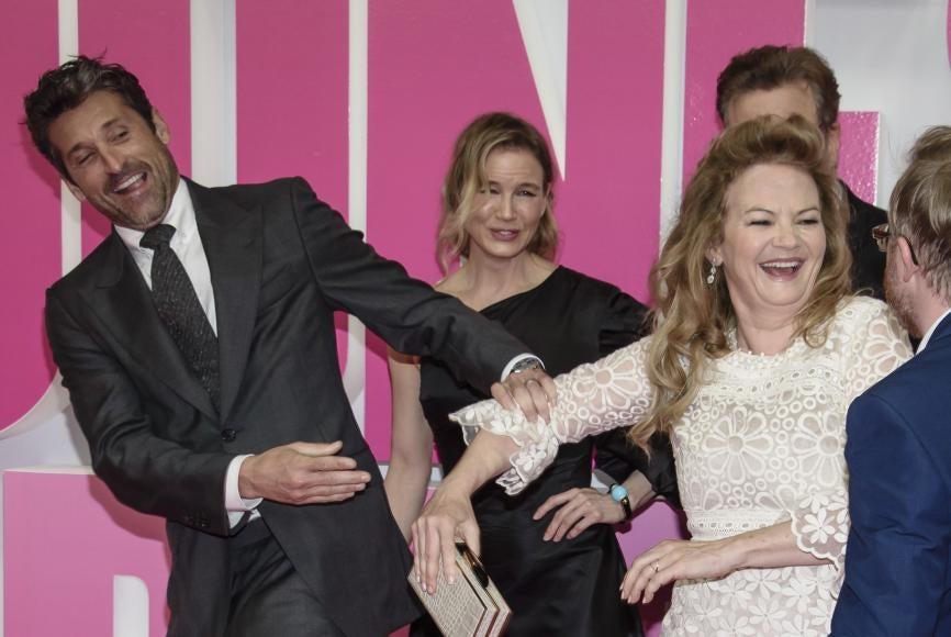 """Patrick Dempsey, Renée Zellweger and Sharon Maguire at 41st TIFF showing of """"Bridget Jones's Baby"""""""