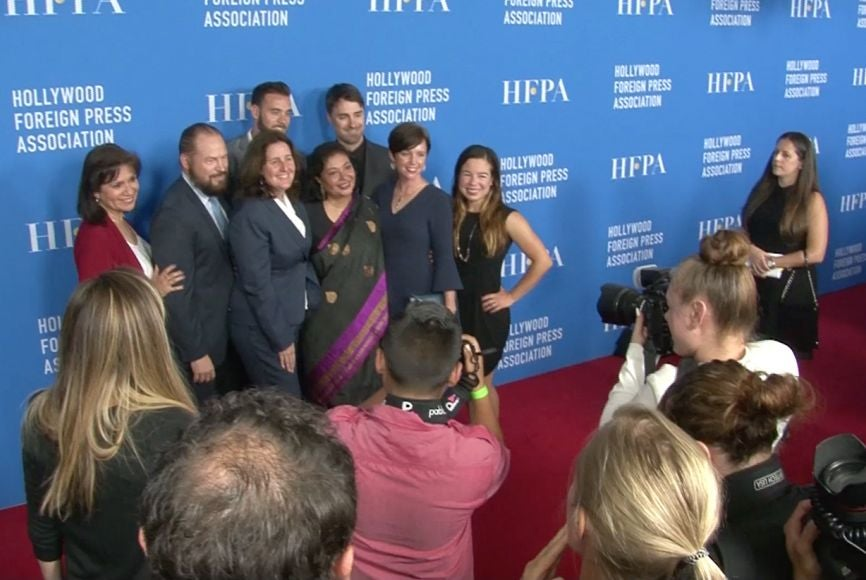 Red Carpet at the HFPA Grants Banquet 2017