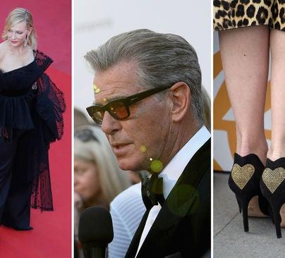 Cate Blanchett, Pierce Brosnan and Elena Radonicich