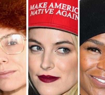 Lily Baldwin, Riley Keough and Nia Long show how to wear a hat