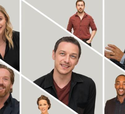 Chloe Grace, James McAvoy, Ryan Gosling, Patrick Stewart, Kate Beckinsale, Anthony Mackie