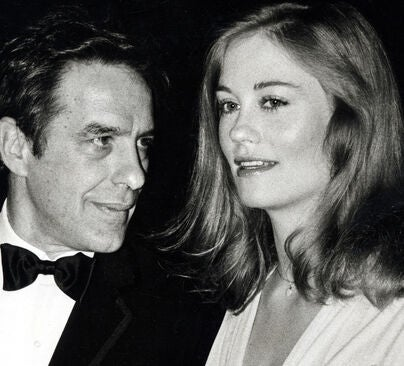 John Cassavetes and Cybil lShepherd at the 34th Golden Globes, 1978