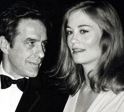 John Cassavetes and Cybil lShepherd at the 34th Golden Globes, 1978