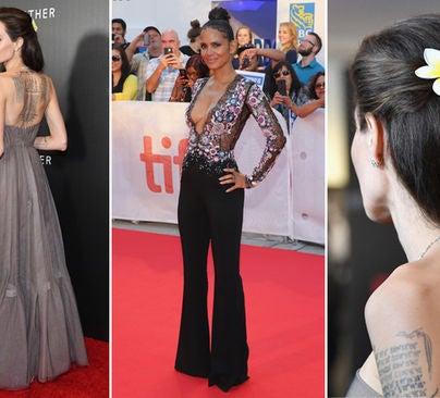 Angelina Jolie, Halle Barry and Angelina Jolie
