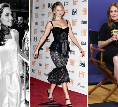 Angelina Jolie, Jennifer Lawrence and Julianne Moore