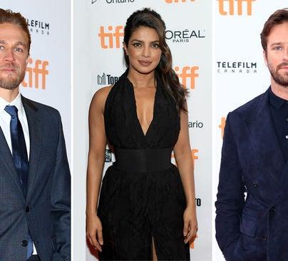 Charlie Hunnam, Priyanka Chopra and Armie Hammer