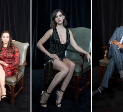 Dylan Minnette/Katherine Langford, Alison Brie and Anthony Mackie