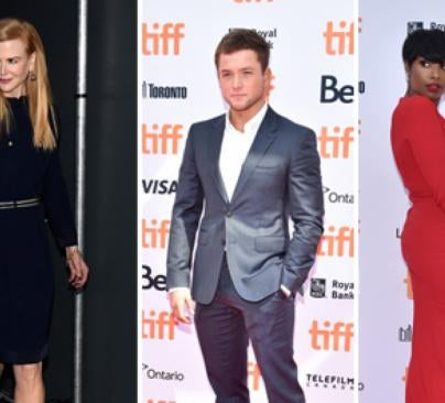 Nicole Kidman, Taron Egerton and Jennifer Hudson at 41st TIFF