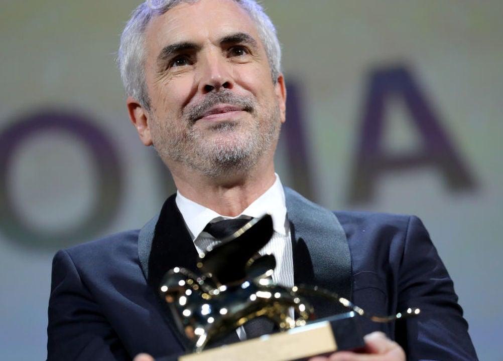 Director Alfonso Cuarón in Venice, 2018