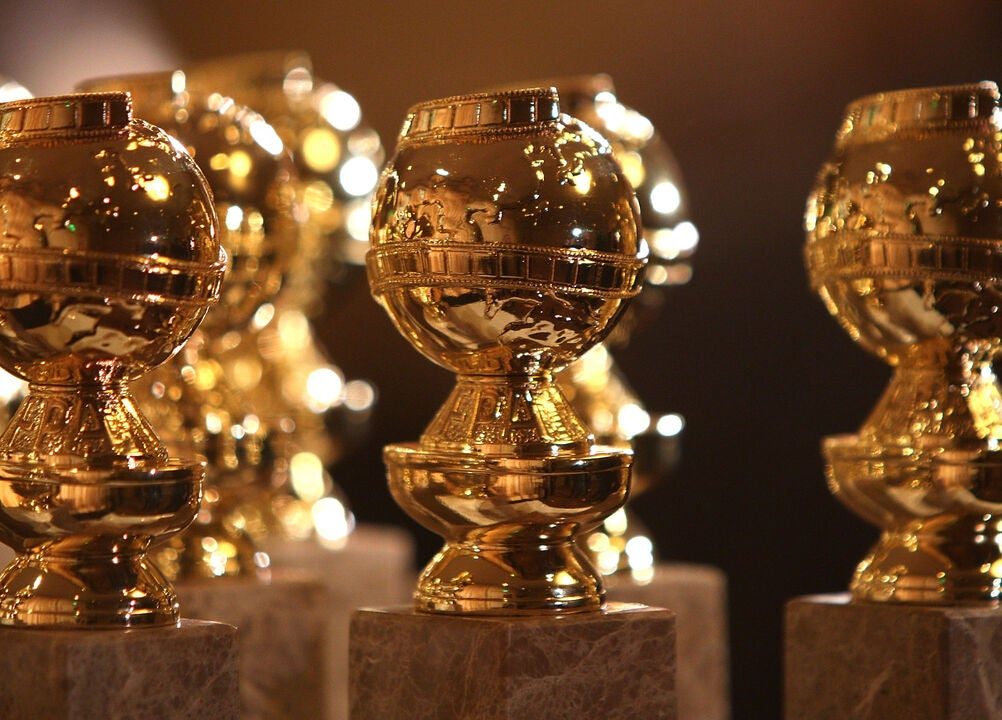 Goldenm Globes statues