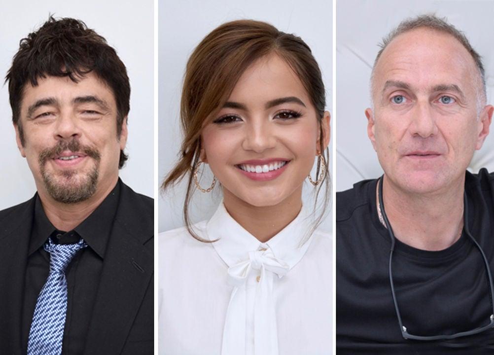 Benicio Del Toro, Isabela Moner and Stefano Sollima