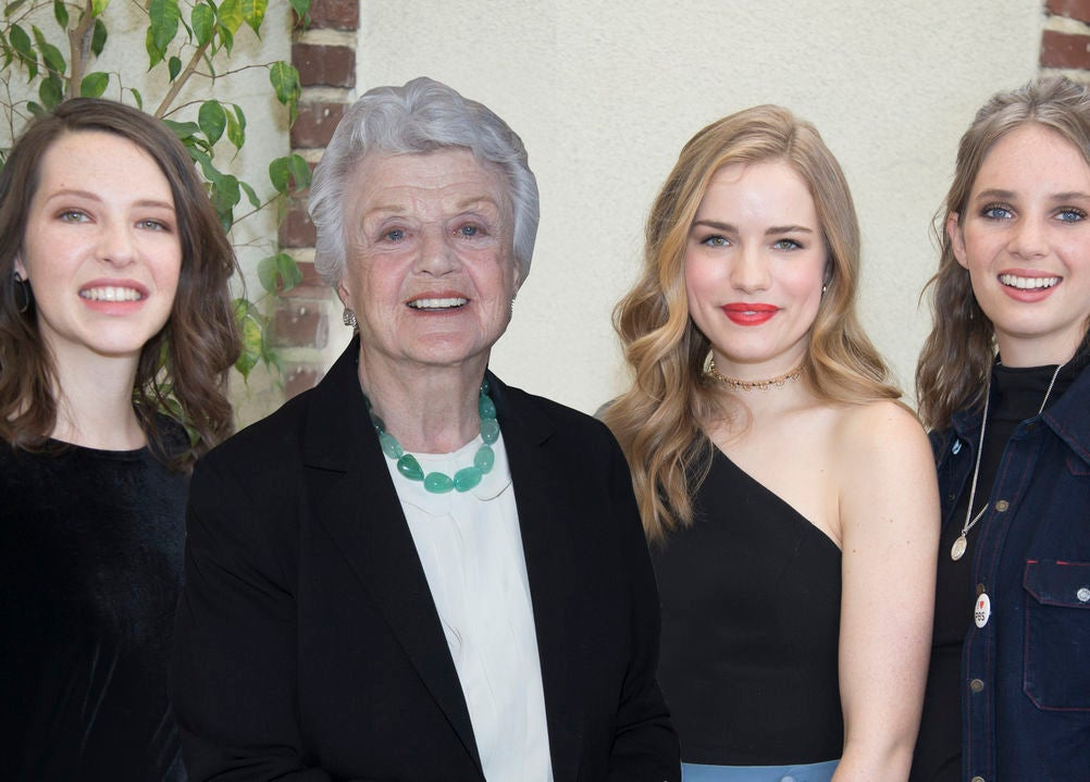 Annes Elway, Angela Lansbury, Willa Fitsgerald and Maya Hawke