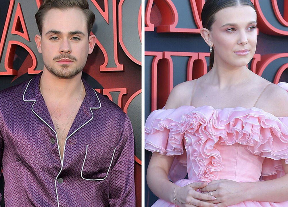 Dacre Montgomery, Millie Bobby Brown