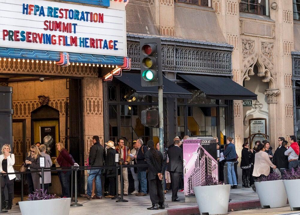 HFPA Film Restoraton Summit video