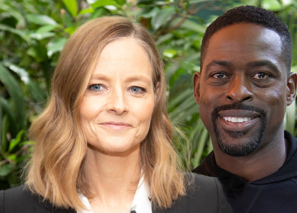 Jodie Foster and Sterling K. Brown