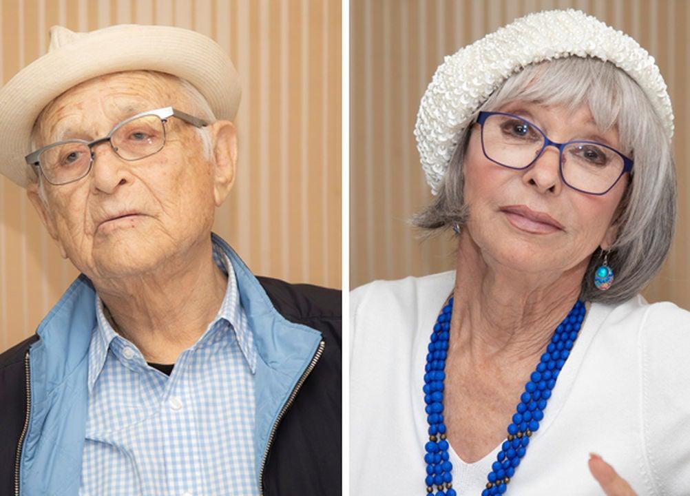 Norman Lear and Rita Moreno