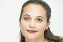 Actress Alicia Vikander, Golden Globe nominee