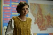 Actress Kristen Stewart in a scene from the film Certain Women