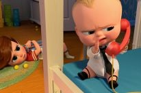 A scene from the animated feature The Boss Baby
