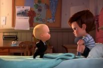 A scene from Boss Baby