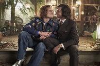 """Taron Egerton and Richard Madden in a scene from """"Rocketman"""", 2019"""
