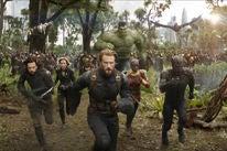 "A  scene fom ""Avengers, Infinity War"""