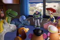 "A scene from ""Toy Story 4"", 2019"