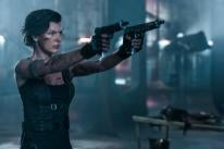 Milla Jovovich in a scene from Resident Evil: The Final Chapter