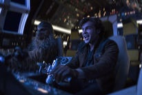 """A scene from """"Solo, a Star Wars Story"""""""