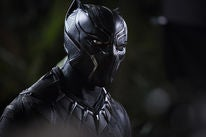"""Chadwick Boseman in a scene from """"Black Panther"""""""