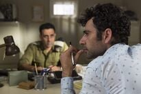 "Kais Nashif and Yaniv Biton in ""Tel Aviv on Fire"" (2018)"