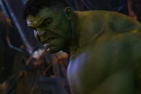 "Mark Ruffalo as the Hulk in Avengers:"" Infinity War"