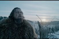 Leonardo di Caprio in a scene from The Revenant, 2015