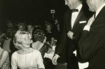 Rock Hudson and Doris Day at the 1960 Golden Globe Awards