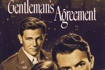 "Poster for the Golden Globe winning film ""Gentleman's Agreement"""