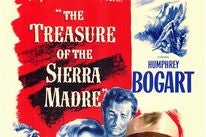 "Poster for the Golden Globe winning film ""The Treasure of the Sierra Madre"""