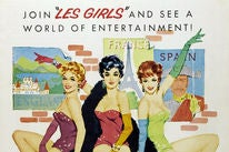 Les Girls movie poster