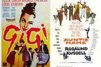 """Movie poster for """"Gigi"""" and """"Auntie Mame"""""""