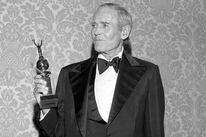 Actor Henry Fonda, Golden Globe winner and Cecil B.deMille recipient