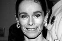 Actress Geraldine Chaplin at the Golden Globes, 1993